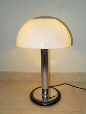ancienne lampe de bureau champignon  ALUMINOR design mushroom french desk lamp