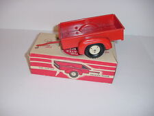 1/16 Vintage Tru Scale Utility Trailer by Carter (1957) W/Box!