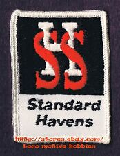 PATCH Badge  STANDARD HAVENS  Equipment Paving Construction  SSH Old Logo