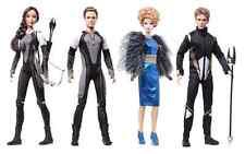 Hunger Games CATCHING FIRE Doll SET of Four!  Katniss Peeta Effie Finnick - NEW!