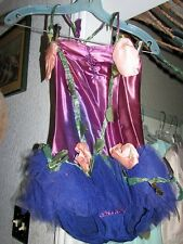 ANTIQUE BALLET DANCE DRESS TUTU Sequin Purple Spotlight VINTAGE COSTUME Youth