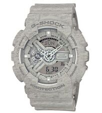 Casio G Shock * GA110HT-8A Gshock Watch Anadigi Heathered Grey XL COD PayPal