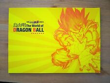 The World of DRAGON BALL Booklet 2013 AKIRA TORIYAMA Art Book