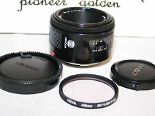 KONICA MINOLTA MAXXUM 50mm LENS for SONY A35 A37 A55 A57 A58 Alpha 1.8 mint-
