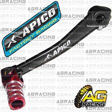 Apico Black Red Gear Pedal Lever Shifter For Honda CRF 70 2007 MotoX Pit Bike