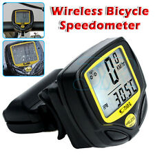 Wireless Bicycle Speedometer Cycle Bike Computer Odometer Meter Waterproof AU