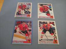 1995/96 Bowman Chicago Blackhawks Team Set