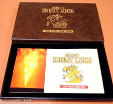 GB UK England Gold Sovereign Coin 1980 Set! Behind Enemy Lines Mini Medals, QEII