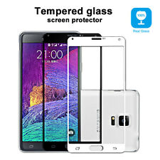 PREMIUM FULL COVER 3D TEMPERED GLASS SCREEN DISPLAY PROTECTOR GALAXY NOTE 4