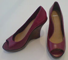 CARVELA Size EU37 Red Wedge Heeled Shoes Ex-display