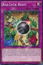 BOSH-EN080 1x BAD LUCK BLAST (ESPLOSIONE DI SFORTUNA) Short Print Common Yugioh