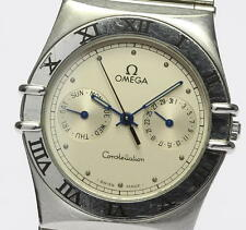 OMEGA Constellation Day & Date Chronometer Silver dial Quartz Men's watch_312346