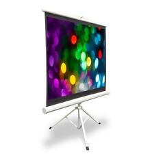 50-inch Video Projector Screen, Easy Fold-Out & Roll-Up Projection Display