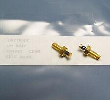 2x HF Diode Unitrode UM 9647, 0000-LL-TRR-2099, GHz