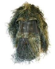 Military Ghillie Hat LARGE Boonie Sniper Hunting Jacket Woodland Army Airsoft