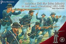 Perry Miniatures American Civil War Union Infantry in sack coats Skirmishing
