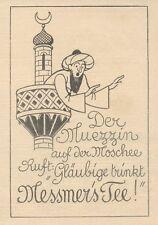 Y6911 MESSMER Tee - Illustrazione -  Pubblicità d'epoca - 1925 Old advertising