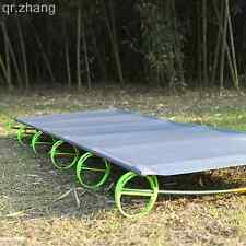 BRS Outdoor Sleeping Folding Bed Ultralight Camping Bed Aluminium Alloy Army Cot
