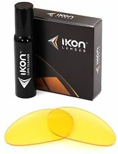 Polarized IKON Replacement Lenses For Oakley Minute 1.0 Sunglasses HD Yellow