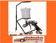 NEW GRAVITY SPRAYGUN KIT INCL.3 TIPS - 1.4 2.0 & 2.5mm + BONUS STAND! SPRAY GUN