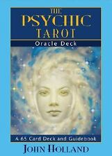 The Psychic Tarot Oracle Cards: a 65-Card Deck, plus booklet!, John Holland, Acc