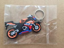 New Honda Repsol CBR Motorcycle keychain Rubber. As Picture US SELLER