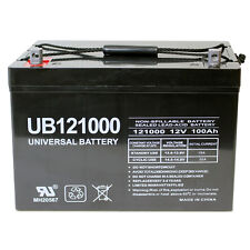 UPG 12V 100Ah SLA AGM Battery for Honeywell Wind Turbine Model WT650