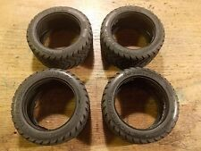 W-5053 Tire Set of (4) - Kyosho Ultima Optima Mid Lazer Scale Cars Rampage ZR-1