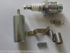 Tune up Kit Points Plug, Flywheel Key, Air Filter Wolseley MerryTiller Rotavator