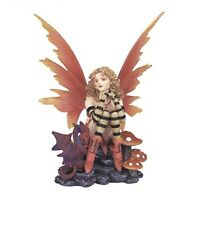 "6"" Inch Fairy Statue Figurine Figure Fairies Magic Fantasy Dragon Mushroom"