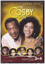 COSBY SHOW SEASON 3 AND 4 (DVD, 2014, 2-Disc Set) NEW