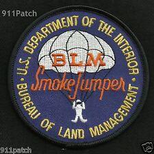 Alaska BLM Smokejumper Firefighter Patch Bureau of Land Management Dept Interior