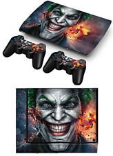 Skin Sticker For PS3 PlayStation Super Slim 4000 Console Controllers Decal