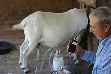 Goat Sheep Cow Hand Vacuum Milk Machine 1 Quart Bottle 2 teat Dansha Farms tm