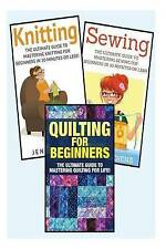 Sewing for Beginners Knitting Quilting Ultimate 3 in 1 Sewing Knitting Quilting
