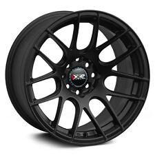 XXR 530 15X8 4x100/114.3MM +20 Black Wheels Fits 4 Lug Civic Jetta Miata Xb Ek