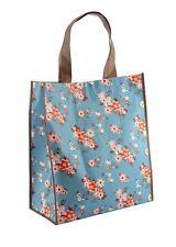 Floreale/Fiore shopping riutilizzabili ECO pieghevole acquisti Tote Bag for Life-BLU
