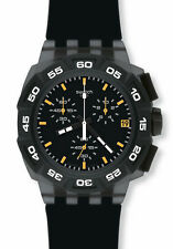 "SWATCH NEW CHRONO ""BLACK HERO"" (SUIB414) NEU, SELTEN"