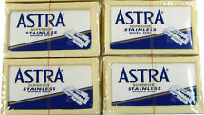 20 Razor Blades ASTRA Superior Stainless Double Edge Shaving Safety Handsome