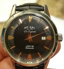 Rotary Super 25 limited edition #1654/1895 (black and rose gold)