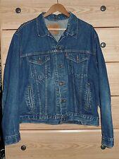 LEVI'S Vintage Denim Jacket 70506-0216 Sz 46 Classic Trucker Red Tab Blue Jean