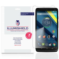 iLLumiShield Screen Protector w Anti-Bubble/Print 3x for Motorola Droid Turbo 2