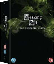 BREAKING BAD COMPLETE SERIES SEASONS 1,2,3,4,5,6 BOXSET 21 DISCS R2 1-6 Express