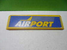 PLAYMOBIL – Panneau airport / Sign, panel / 3186 3353 3886