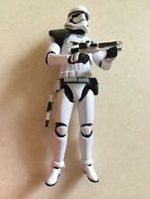Custom SW SERGEANT & SQUAD LEADER FIRST ORDER TROOPERS Loose 3.75 Black Series