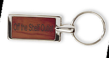Laser Engraved Personalized Rosewood Key Chain Free Engraving