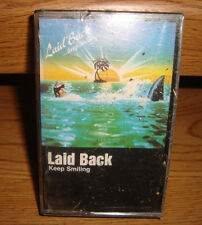 LAID BACK + KEEP SMILING + + NEW & SEALED + USA CASSETTE TAPE NEW WAVE SYNTH
