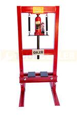 GOLEM 6 Ton Red Heavy Duty Industrial Hydraulic Shop Press Workshop Floor CE