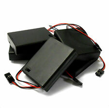 C1201-2x5 RC Battery Holder Case Box Pack 4 x AAA JR 3 Pin x 5