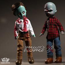 FLYBOY & PLAID SHIRT ZOMBIE, Dawn of the Dead, Living Dead Dolls Mezco, NEW!